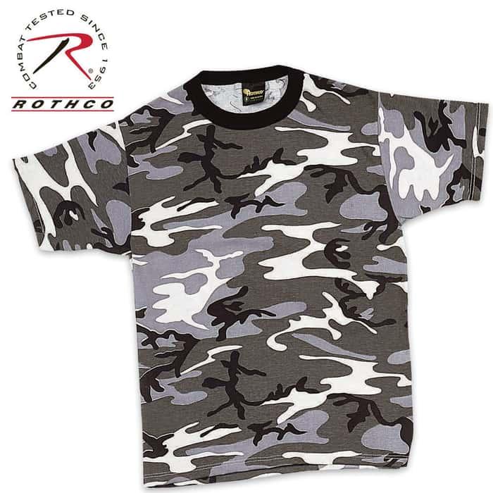 City Camo Short Sleeve T-Shirt