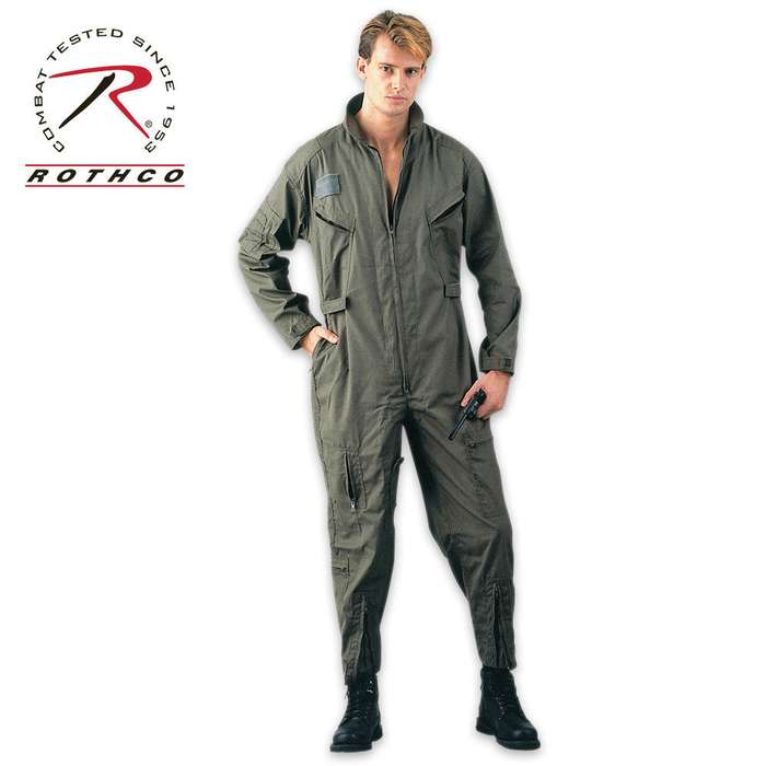 Air Force Style Flight Suit OD