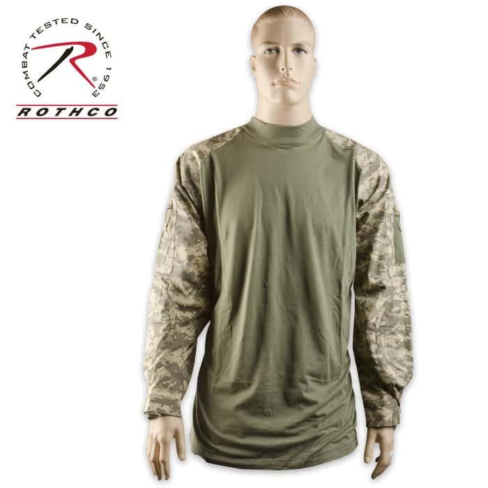 Combat Long Sleeve Shirt ACU
