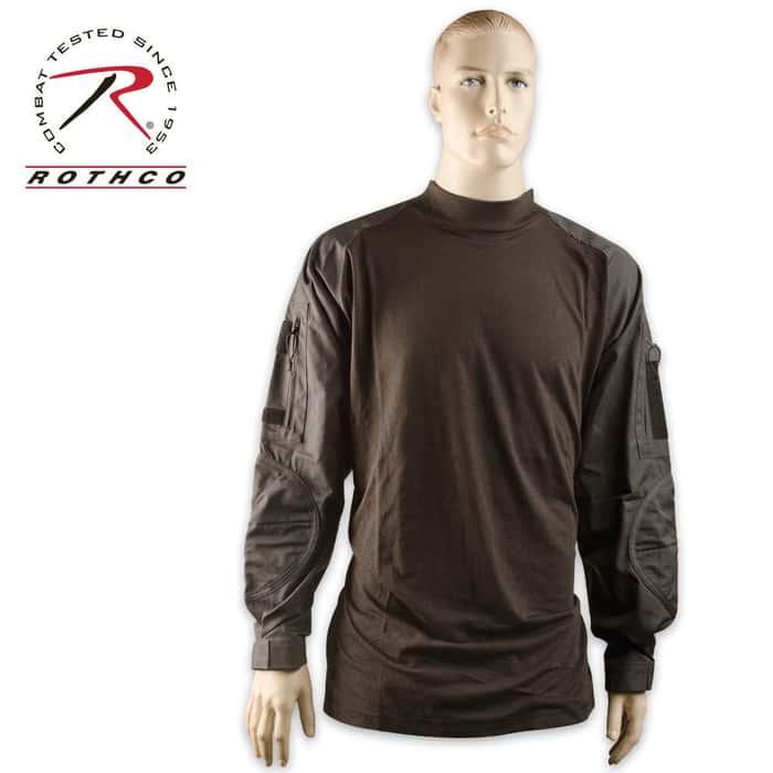Combat Long Sleeve Shirt Black