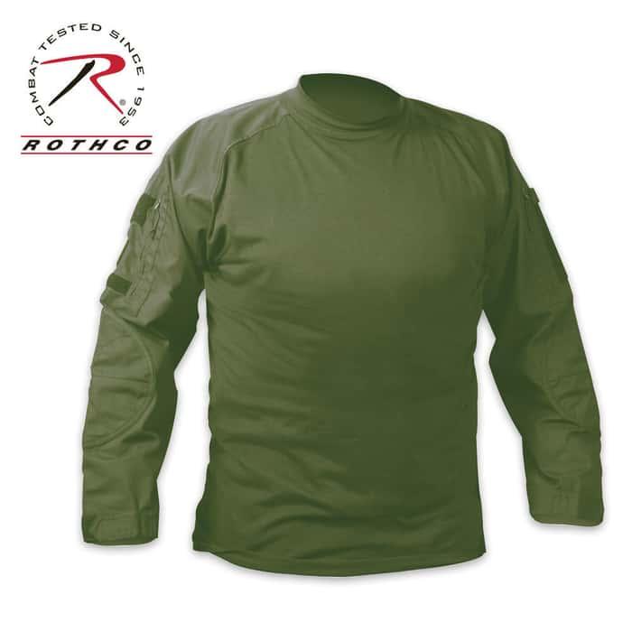 Combat Long Sleeve Shirt OD