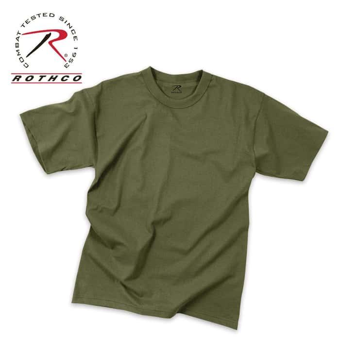 Olive Drab Moisture Wicking T-Shirt