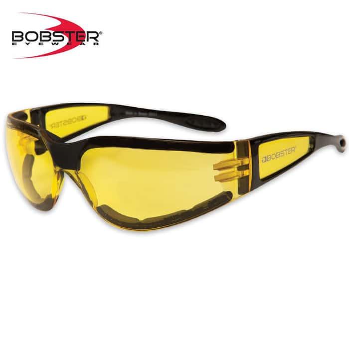 Bobster Shield II Sunglasses Yellow/Black