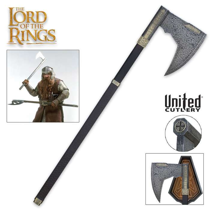 LOTR Bearded Axe of Gimli - Lord of the Rings