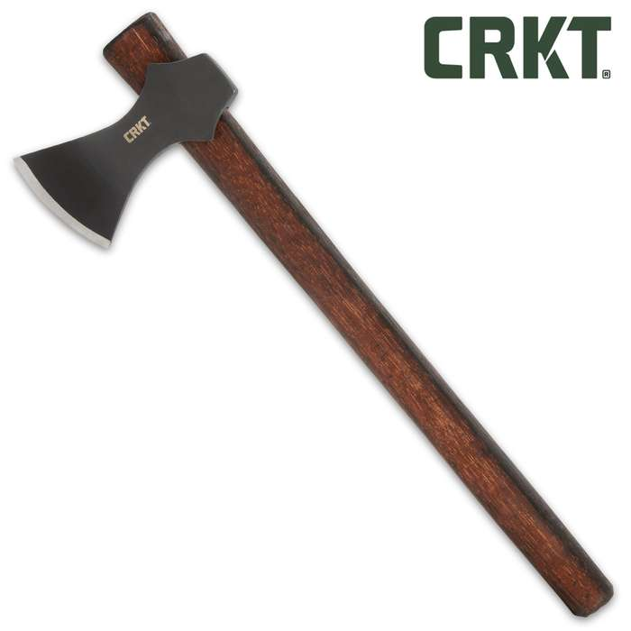 The Freya Viking Utility Axe is a powerful everyday axe that touches on ancient design roots and thrives in the outdoors