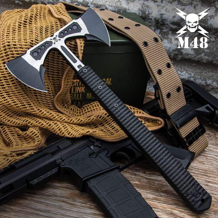 United Cutlery takes its classic and popular M48 Tomahawk design and gives it double the cutting and chopping power