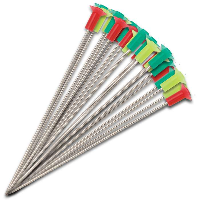 These Blowgun Hunting Spear Darts will blister through the air at mach speed when you use them in your blowgun