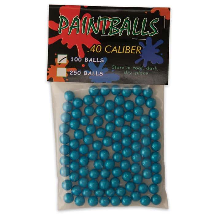 Paint Balls .40 Cal. 100 Ct. Per Pack