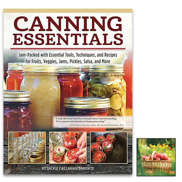 A complete, go-to beginner's guide to food preservation, Canning Essentials will take you step-by-step through the processes of canning fruit and other produce