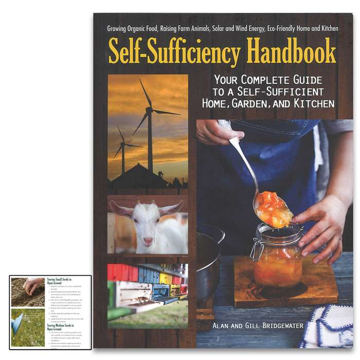 This introduction to a greener way of living emphasizes positive aspects of self-sufficiency like cutting living costs and eating well