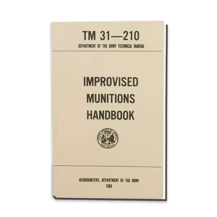 Army Technical Manual - Improvised Munitions Handbook