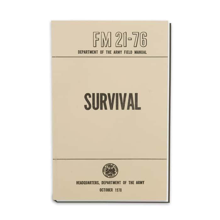 Army Field Manual - Survival