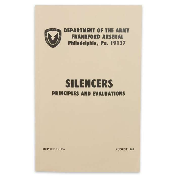 U.S. Army Silencers Manual