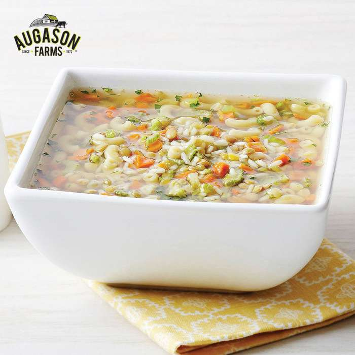Augason Farms 2 Week, 1 Person Emergency Food Pail - 140 Servings Entrees, Soups, Breakfasts, Drinks, etc.; 25,800 Calories - Disasters, RV, Dorm Room, Bug-out - Watertight 4 Gallon Bucket - Easy Prep