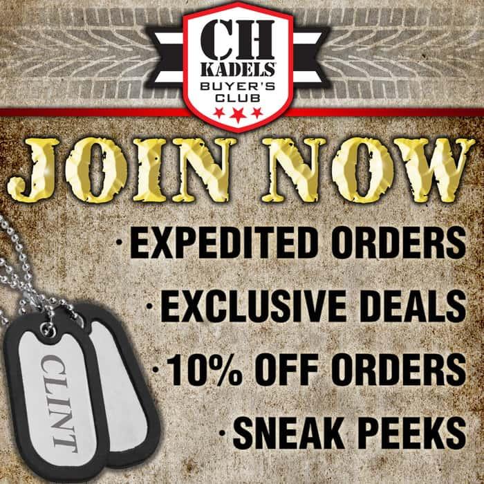 CH Kadels 12 Month Buyers Club Membership