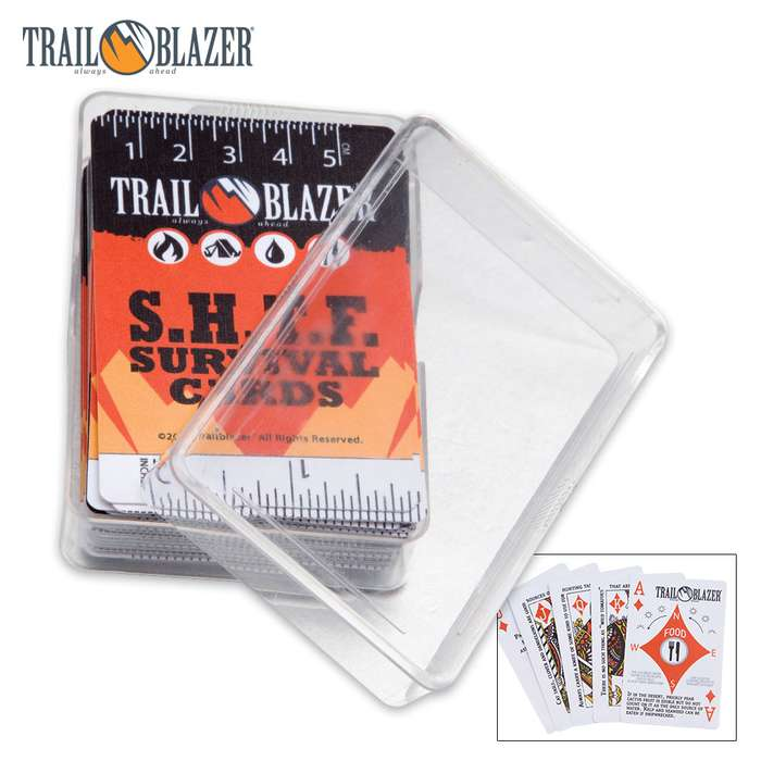 Trailblazer Survival Playing Cards