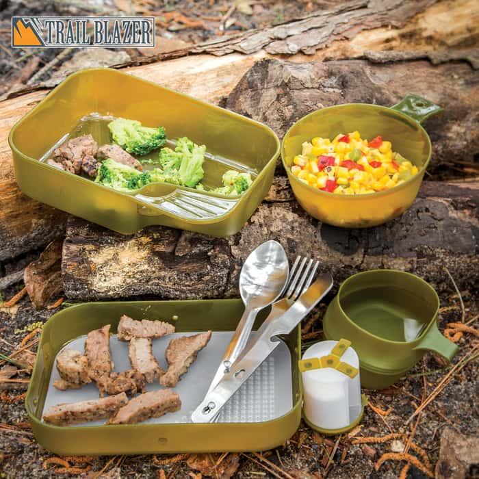 Trailblazer Mil-Spec Camper's Mess Kit