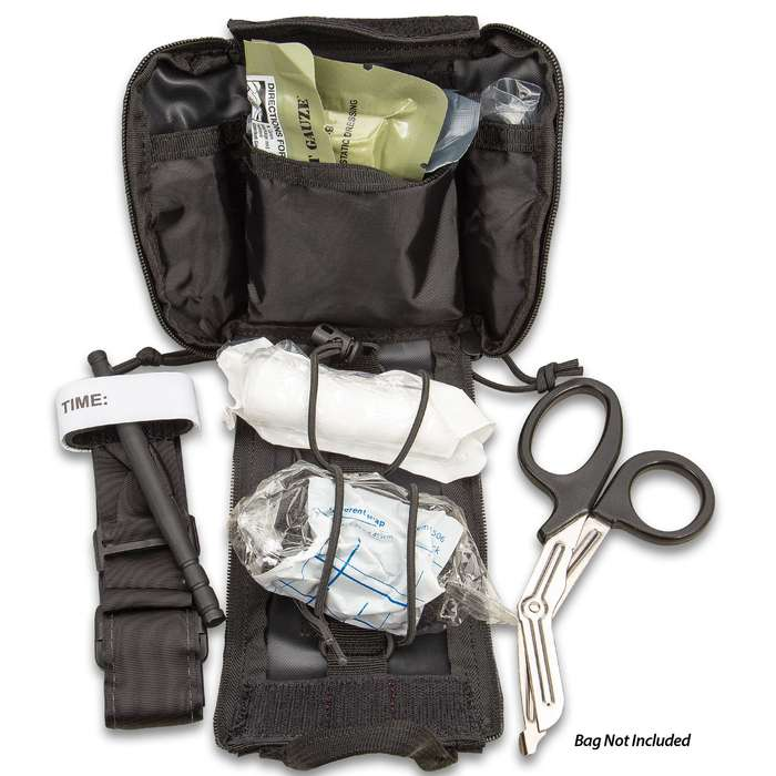 Rapid Response Kit - Daily Field First Aid, Variety Of First Aid Supplies, Shrink-Wrapped