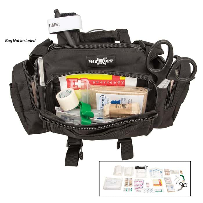 Trauma Kit - Professional Use, Necessary Trauma Supplies, Shrink-Wrapped