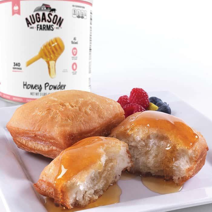Augason Farms Honey Powder - 3-lb Institutional Size Can