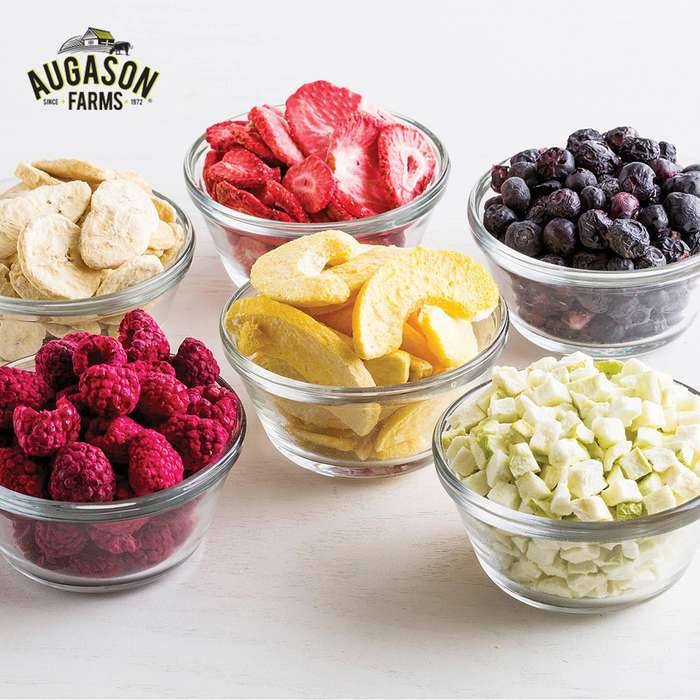 Augason Farms Freeze Dried Fruit - 6-Gallon Pail