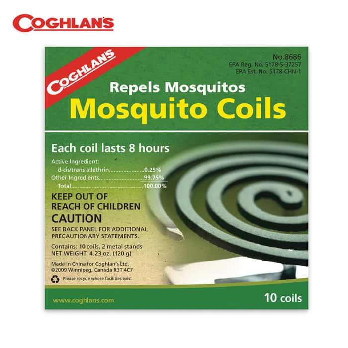 Coghlans Mosquito Coils 10pk