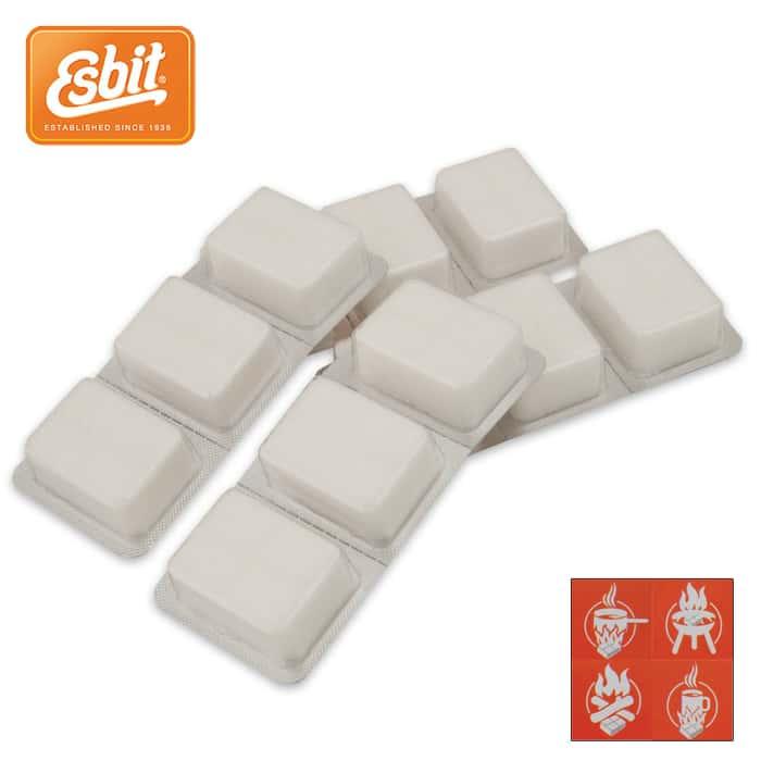 Esbit Solid Fuel Cubes - 12-Pack