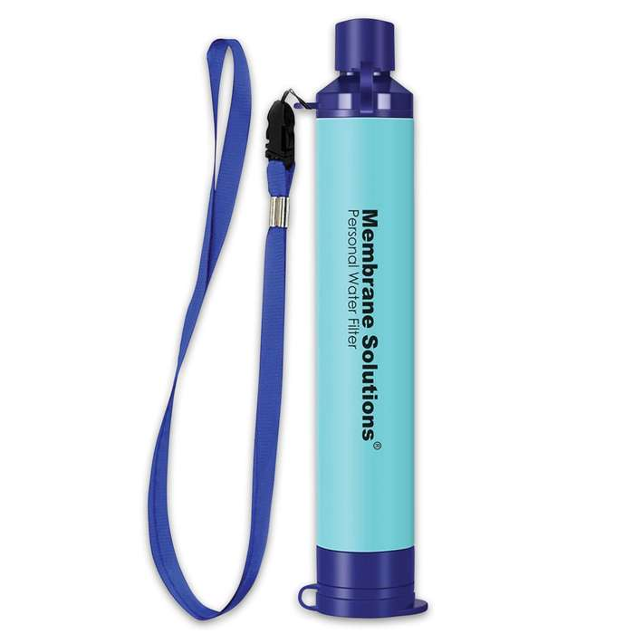 Ensuring the safest water in the worst environments, the Personal Water Filter Straw has a four-stage filtration system