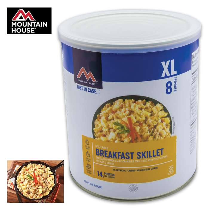 Mountain House Breakfast Skillet Can 10 Servings