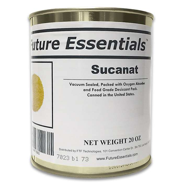 Sucanat is superior to refined white sugar or even less refined brown sugar because it carries all the nutritional benefits found in molasses: potassium, calcium, magnesium, and Vitamin A.