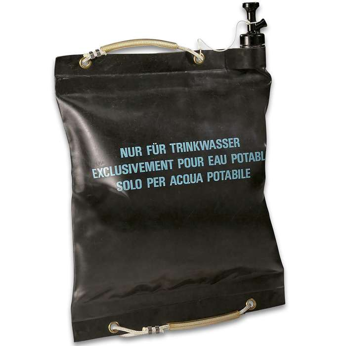 Swiss 20 Liter Black Water Bag