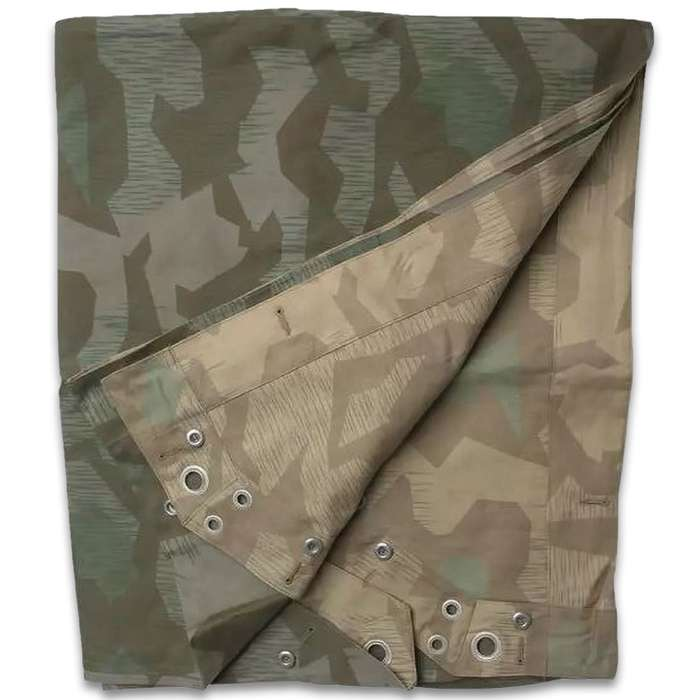 The German Reproduction WWII M34 Shelter Half is one of the most versatile items you can add to your outdoor gear