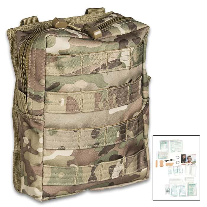 Camo first aid kit bag