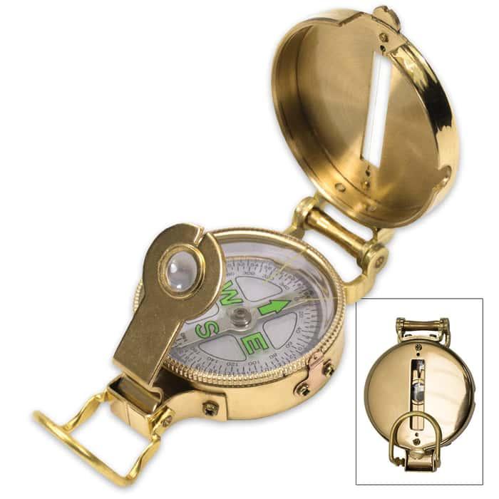 Trailblazer Heritage Lensatic Compass