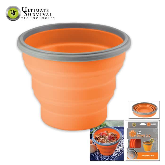 UST FlexWare Bowl 2 Orange