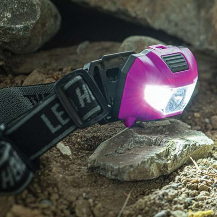 The 2-In-1 UV And White LED Headlamp is a great lighting tool to have around the house or office because you'll find so many uses for it