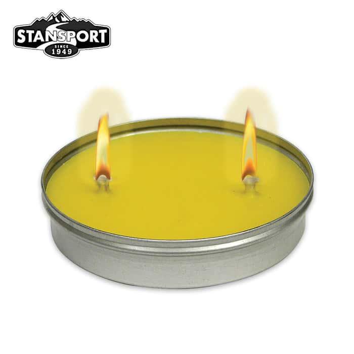 Citronella Bug Repellent Candle 10-oz. Disc