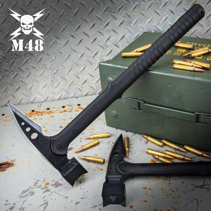 United M48 Tactical War Hammer With Vortec Sheath