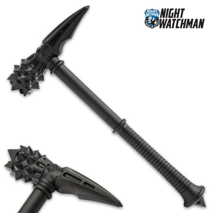 Designed specifically for law enforcement agencies, the Night Watchman War Hammer is a deterrent you can count on