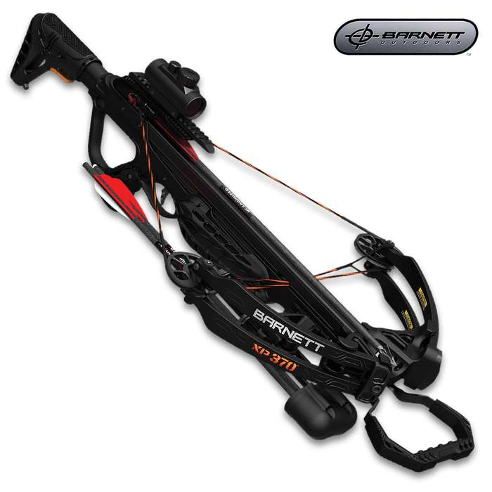 The Barnett Explorer XP370 Crossbow introduces impressive power and performance in an affordable crossbow package