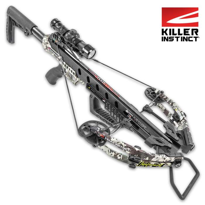 With an unstoppable 425 fps, it punches through targets with 156 foot-pounds of deep penetrating kinetic energy