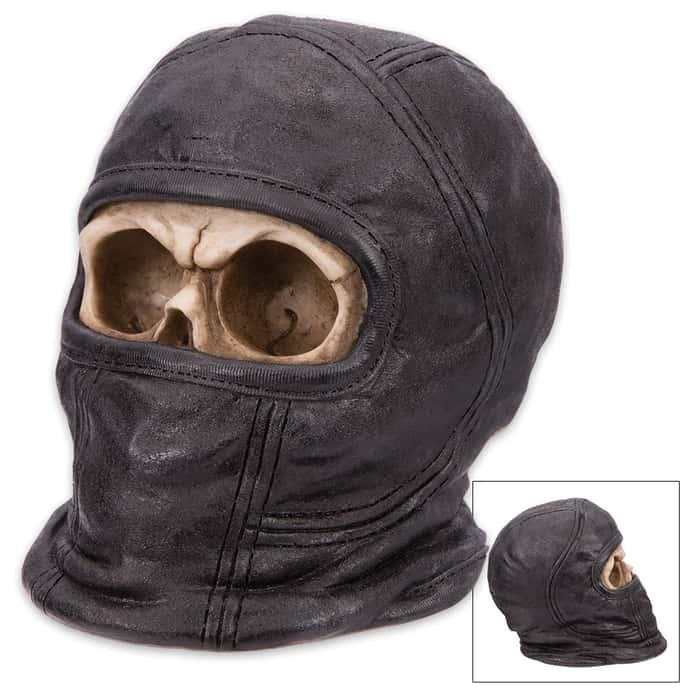 Stealthy Bones Ninja Skullpture
