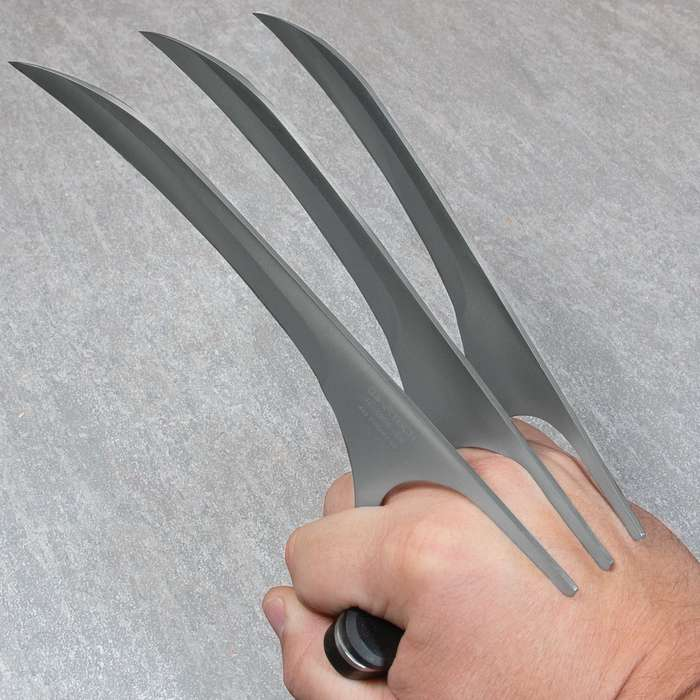 HUNTING WOLVERINE Claw Blade Fantasy Knife Combat XMEN Cosplay Halloween LOGAN