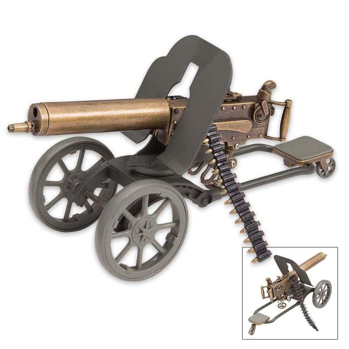 Maxim Gun Replica Desk Display