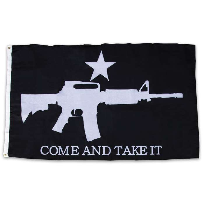 Show your support for the Second Amendment and proudly display this awesome Gadsden Flag on your property