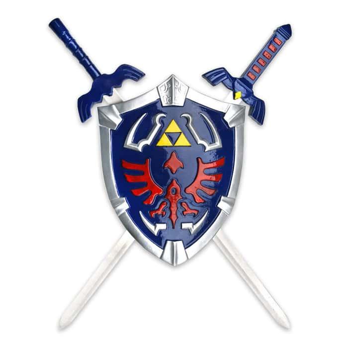Zelda Shield & Twin Swords Set