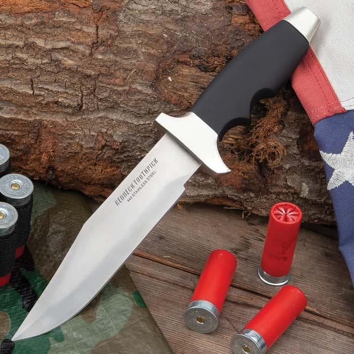 Redneck Toothpick Bowie Knife