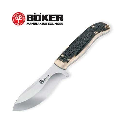 Boker Solingen 02BA580H Arbolito Skinner Stag Hunter Knife