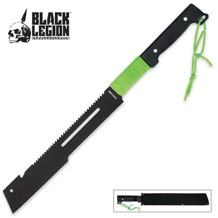 Black Legion Undead Cleaver Machete
