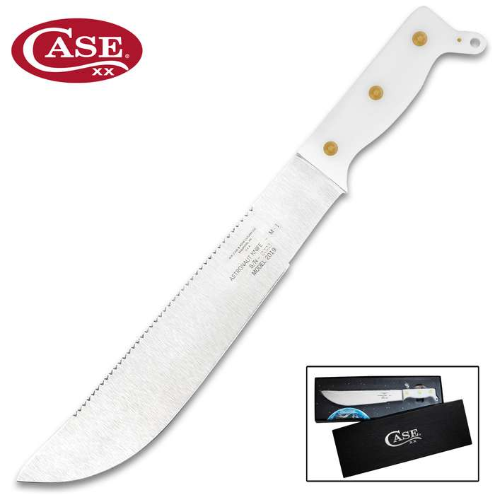In celebration of the 50th Anniversary of man's first steps on the Moon, Case proudly presents the Astronaut M-1 Knife